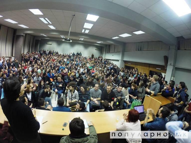 Автономната зона оправдана - битката на студентите продолжува