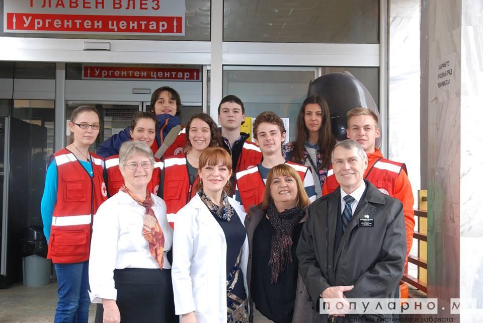 """Црвен крст Центар: Успешната приказна  """"Зошто сум во болница"""" продолжува"""