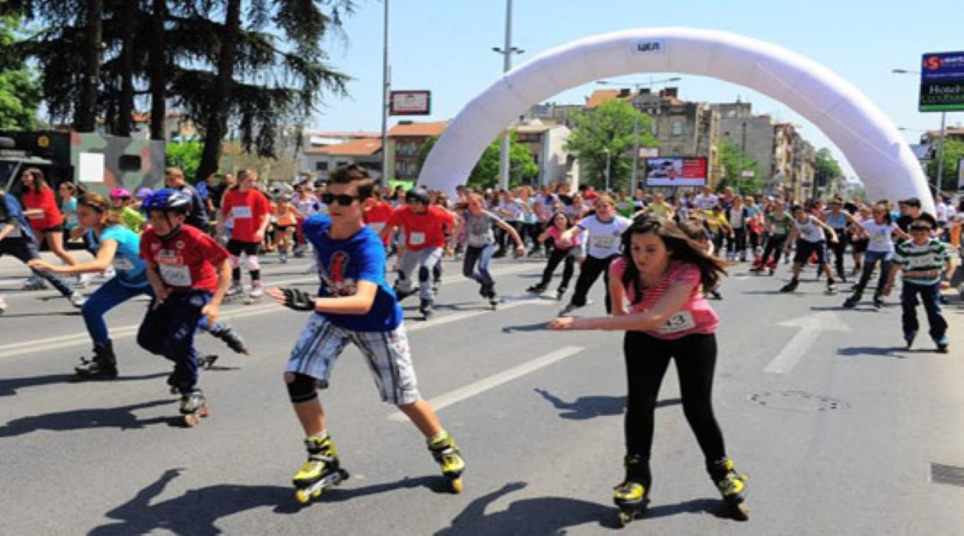 """""""Возиме кон иднината"""": Денеска ролеријада во Скопје"""