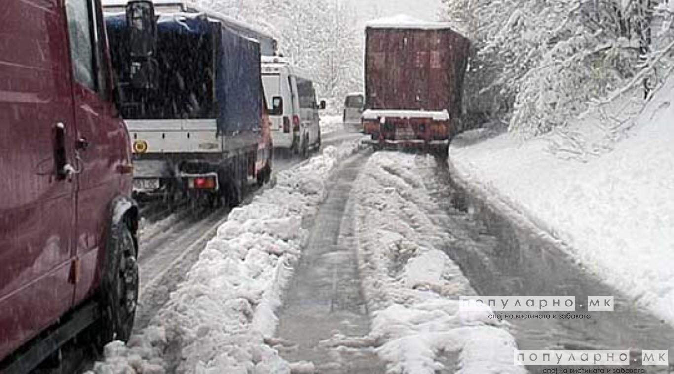 Забрана за тешки товарни возила на Стража и Маврово