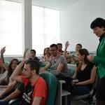 ФОТО: Студентите на ФИНКИ учеа за комуникациските вештини