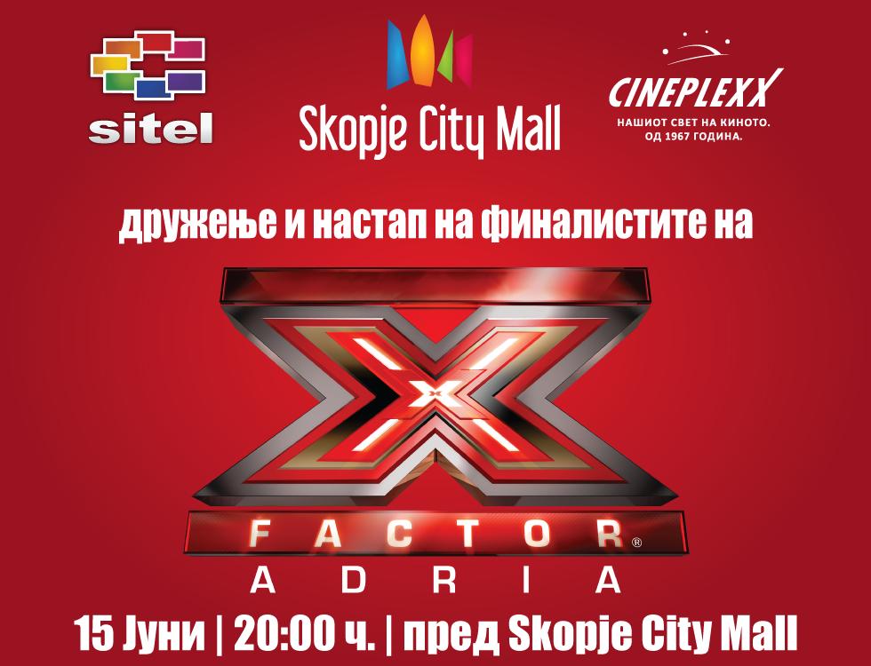 Денеска финалистите од Х-Фактор на гости во Скопје
