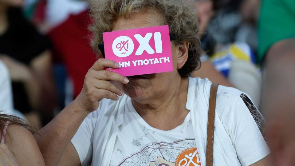 """Вонреден самит на ЕУ по грчкото """"не"""""""