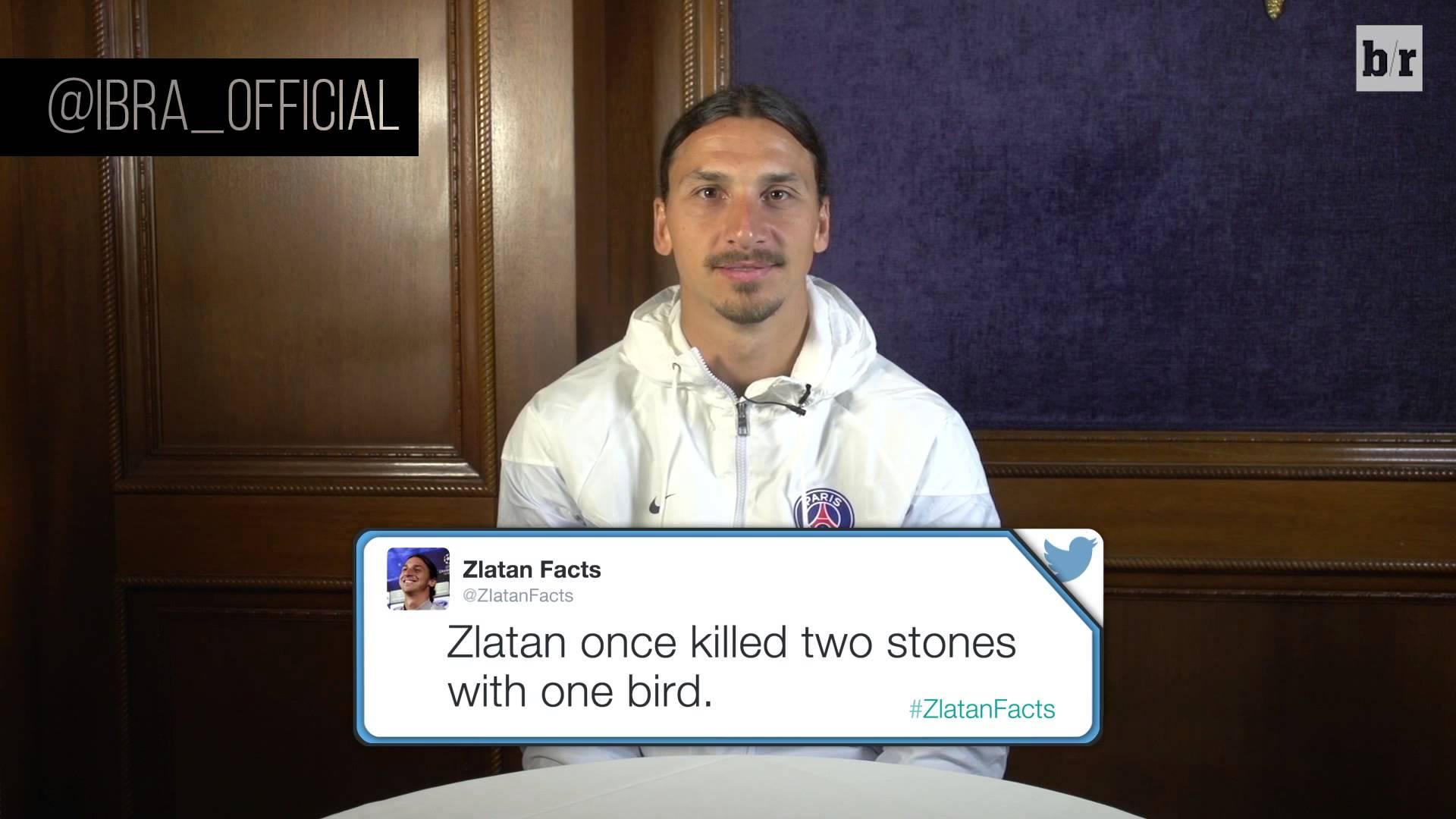 ВИДЕО: Златан Ибрахимовиќ чита шеги на своја сметка