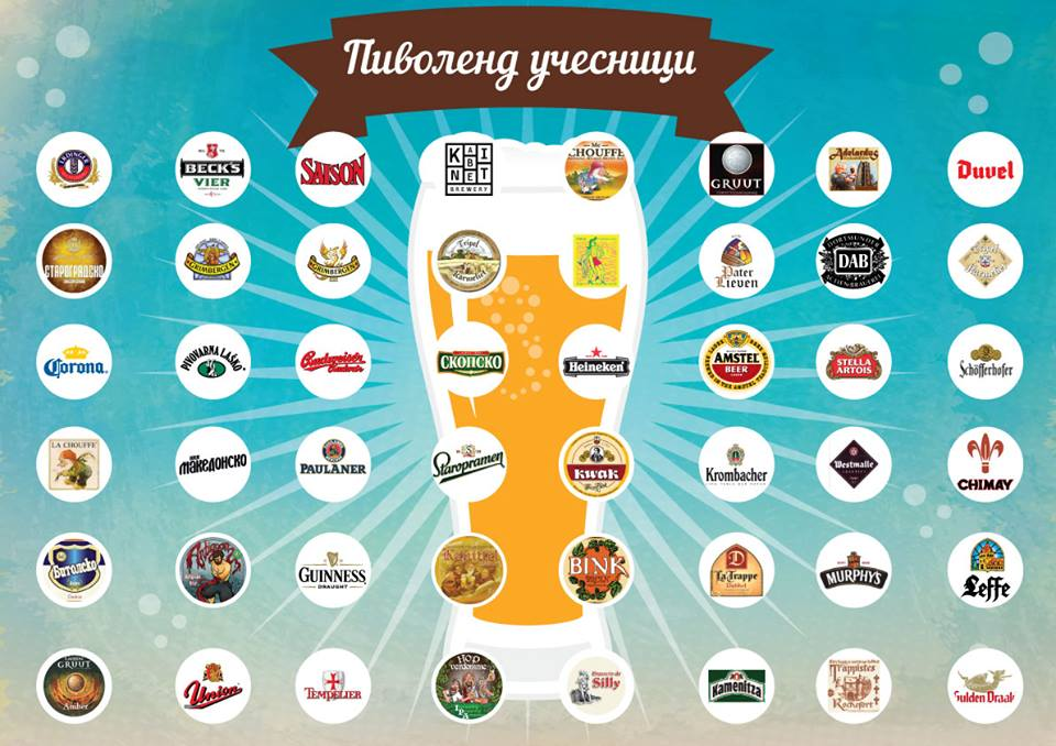 """Подгответе се за """"Пиволенд 2015"""": Ова е изборот на пива кои ќе можете да ги пробате оваа година!"""