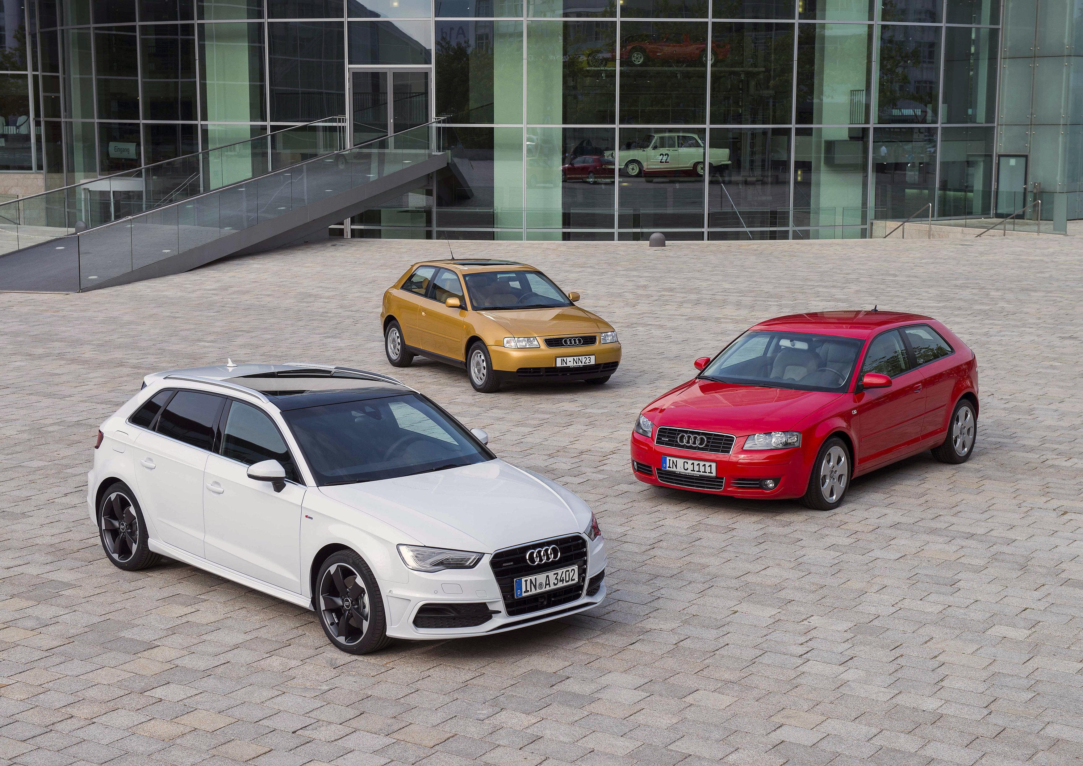 Audi А3 го слави 20-годишниот јубилеј со повеќе од 3,5 милиони возила продадени низ цел свет