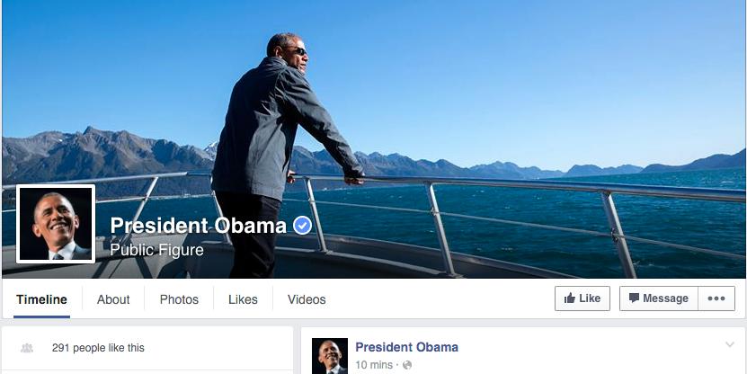 И Барак Обама отвори профил на Фејсбук