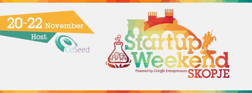 Во петок започнува Стартап Викенд Скопје