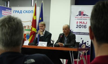 На 8-ми мај Скопје ќе биде домаќин на најмасовниот и најпосетениот Виз Ер Скопски Маратон досега