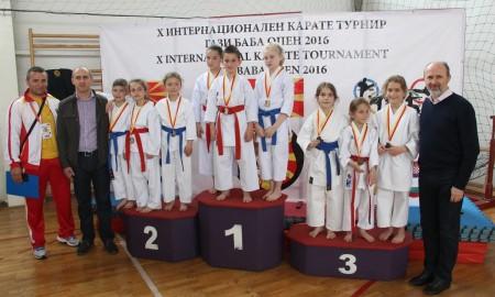 """Отворен меѓународниот карате турнир """"Гази Баба Опен 2016"""""""