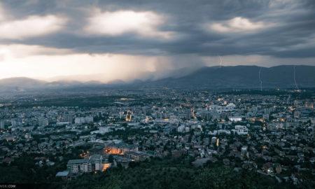 ВОНРЕДНА ПРОГНОЗА: Попладне можно невреме со дожд, град и грмежи