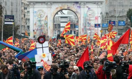 """Заврши граѓанскиот марш """"Борбата продолжува, гласот победува"""" (ФОТОГАЛЕРИЈА)"""
