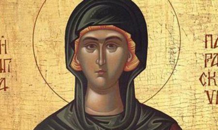 Преподобна Параскева-Петковден, заштитничка од несреќи и болести