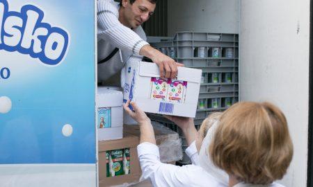Донација од Бимилк за Млечната кујна во Детската клиника во Скопје (ФОТО)