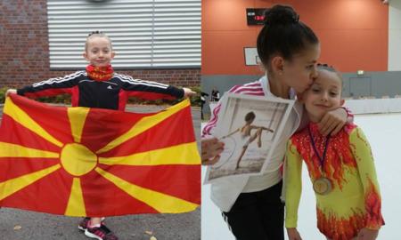 Ева и Илина - две сестри кои гордо ја претставуваат Македонија во светот на гимнастиката