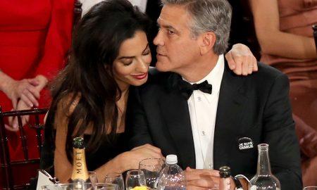 УШТЕ ЕДНА УБАВА ВЕСТ ВО ХОЛИВУД: Амал Клуни очекува близнаци