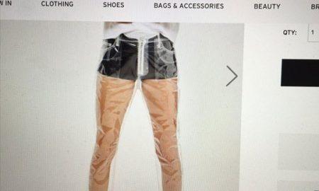 На пазарот пристигнуваат целосно пластични, проѕирни панталони