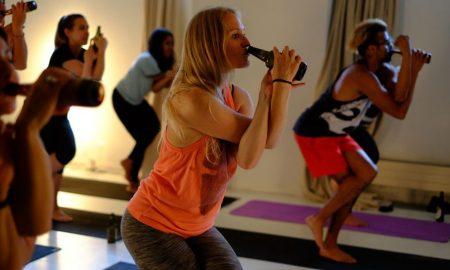 Хит во Русија - пивска јога