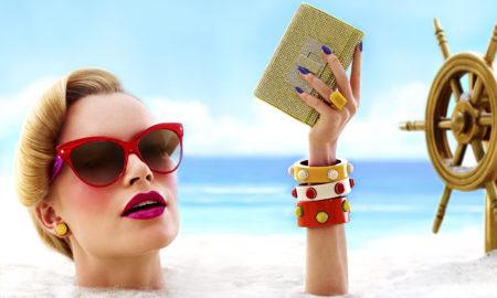 Играјте си со шминката во текот на сончевите денови