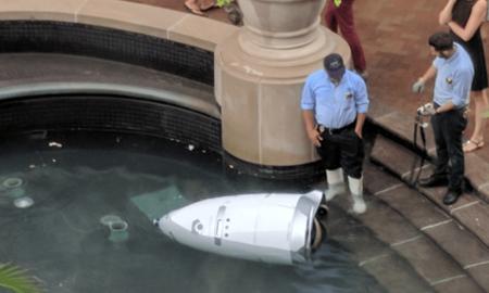"""ХИТ НА ИНТЕРНЕТ: Робот се """"удави"""" во фонтанa во САД"""