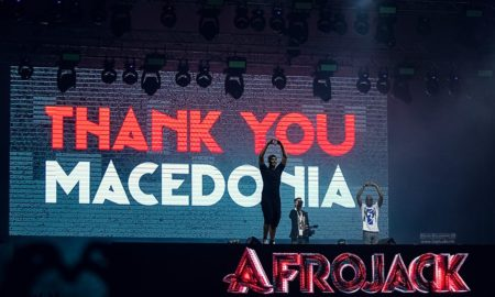 """ЗДРАВО, ЗДРАВО МАКЕДОНИЈА: Луда забава со Афроџек на отворањето на """"Охрид колинг"""" (ФОТОГАЛЕРИЈА)"""