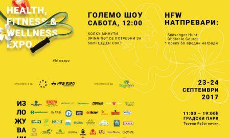 Дознајте што сѐ ќе се случува на третото издание на Health, Fitness & Wellness Expo!