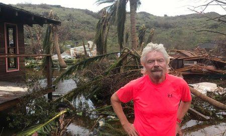 Ричард Бренсон побара спас од Ирма во винскиот подрум