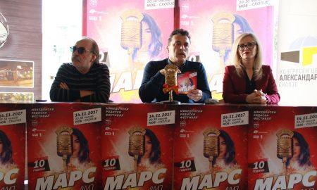ЈУБИЛЕЈНО 10. ИЗДАНИЕ НА МАРС: Радиските хитови на годината ќе се избираат на 14 ноември