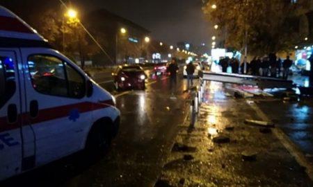 """Тешка сообраќајна несреќа на """"Партизанска"""", нема жртви"""