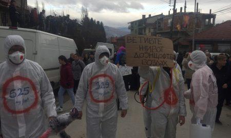 ВЕВЧАНСКИ КАРНЕВАЛ: Загадениот воздух, двојазичноста и политичката ситуација меѓу актуелните маски (ФОТО)