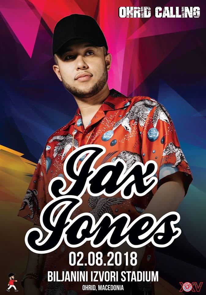 """И Џекс Џоунс на """"Охрид колинг"""""""