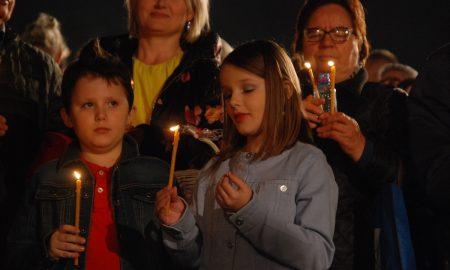 Велигден прославен во Соборниот храм во Скопје (ФОТОГАЛЕРИЈА)