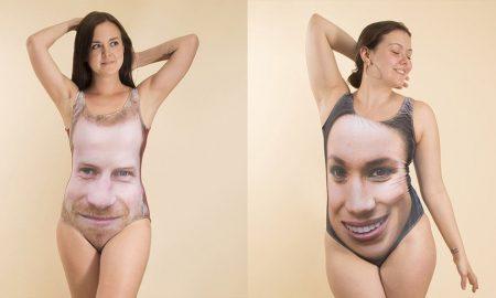 Принцот Хари и Меган Маркл добија костими за капење со својот лик