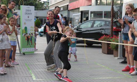 Деновите на семејни игри го исполнија Аеродром со детски дух и радост