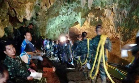 Исчезнатите тајландски момчиња по девет дена пронајдени живи