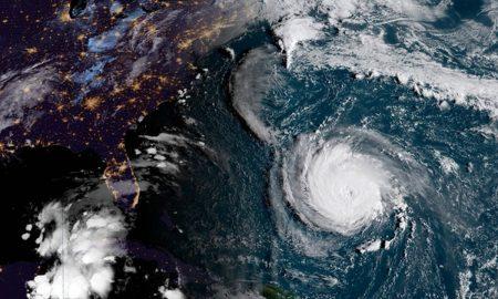 По ударот на ураганот Флоренс, драматичен пораст на водостојот на реките