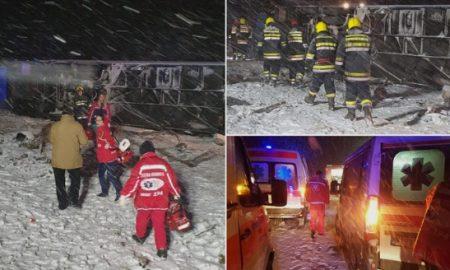 Македонски автобус се превртел кај Лесковац - три патници загинале